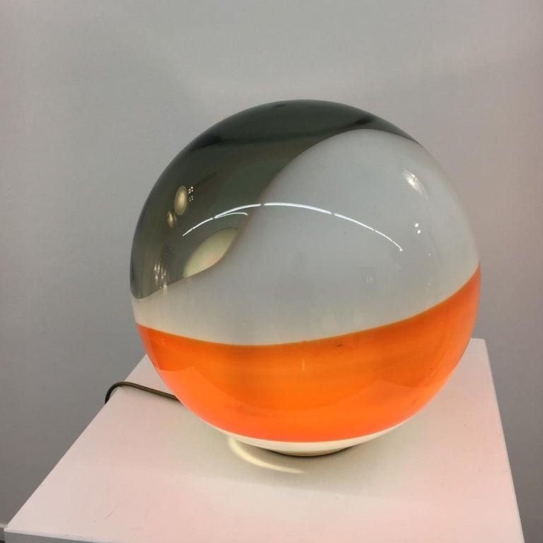 "Angelo Brotto ""Bolla"" Table Lamp for Esperia, Italy, 1980 For Sale 3"