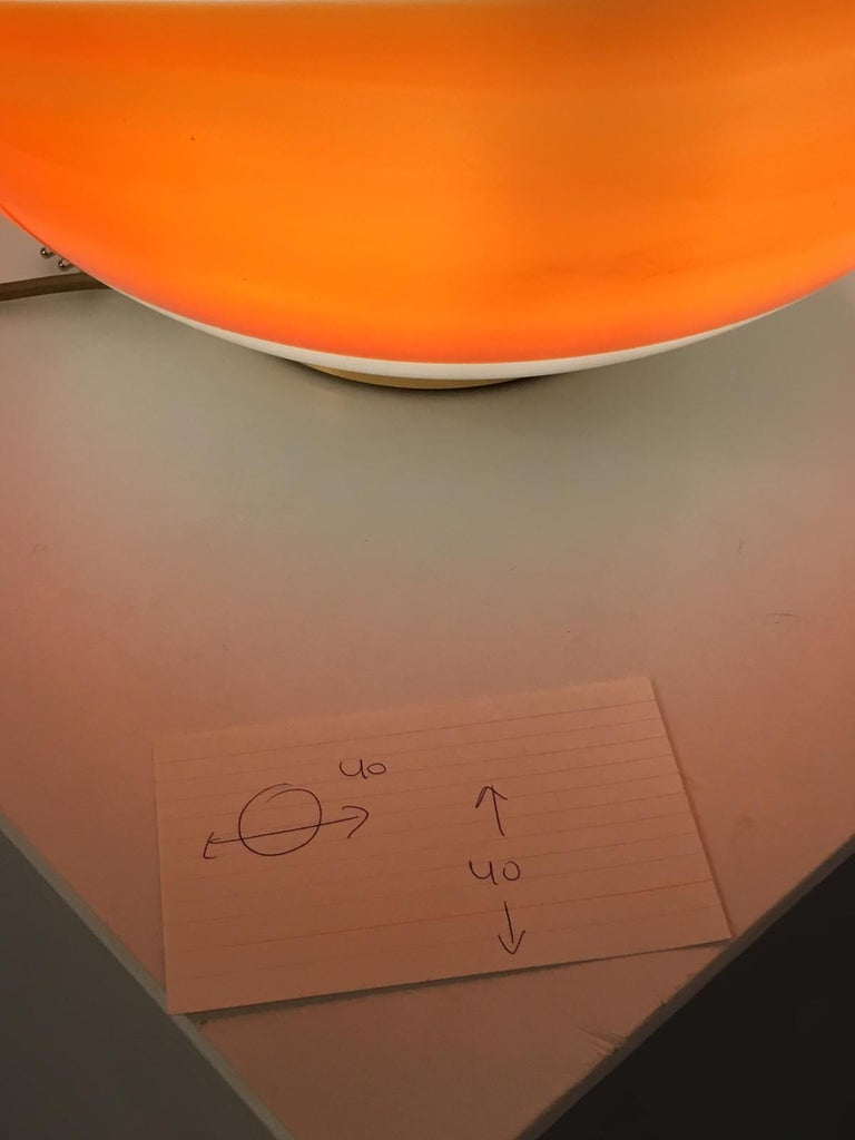 "Angelo Brotto ""Bolla"" Table Lamp for Esperia, Italy, 1980 For Sale 4"