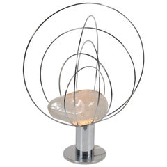 Angelo Brotto Sculptural Table Lamp for Esperia, Italy, 1960