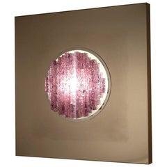 "Angelo Brotto ""Sensazione Quasar"" Sculptural Wall Light for Esperia, 1970"
