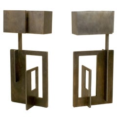Angelo Brotto Table Lamps, circa 1970, Italy