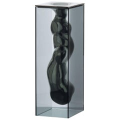 Angelo in Platinum Finish (black), by Jean-Marie Massaud from Glas Italia