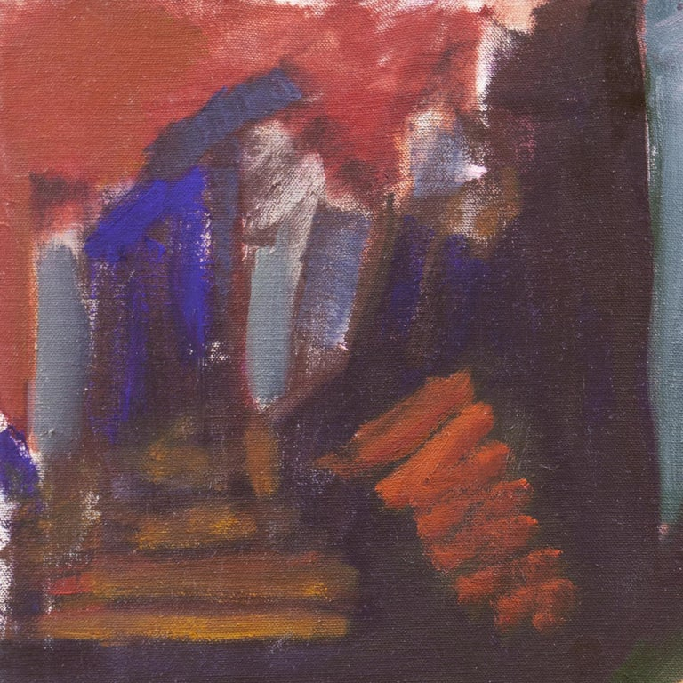 Woman in Abstract (Modernism, New York, Abstract Expressionism) - Abstract Expressionist Painting by Angelo Ippolito