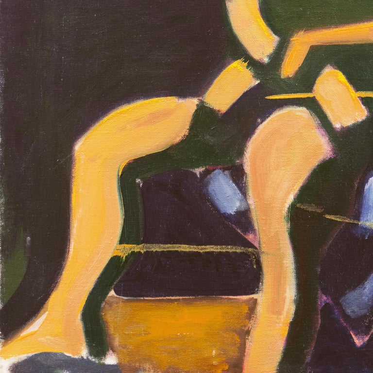 Woman in Abstract (Modernism, New York, Abstract Expressionism) For Sale 1