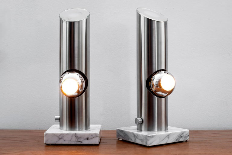 Italian Angelo Lelii Attributed Table Lamps For Sale