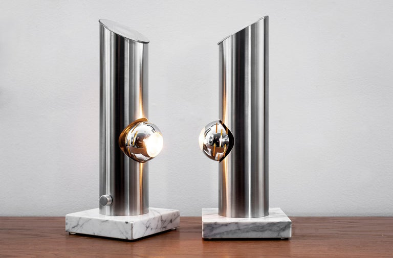 Mid-20th Century Angelo Lelii Attributed Table Lamps For Sale
