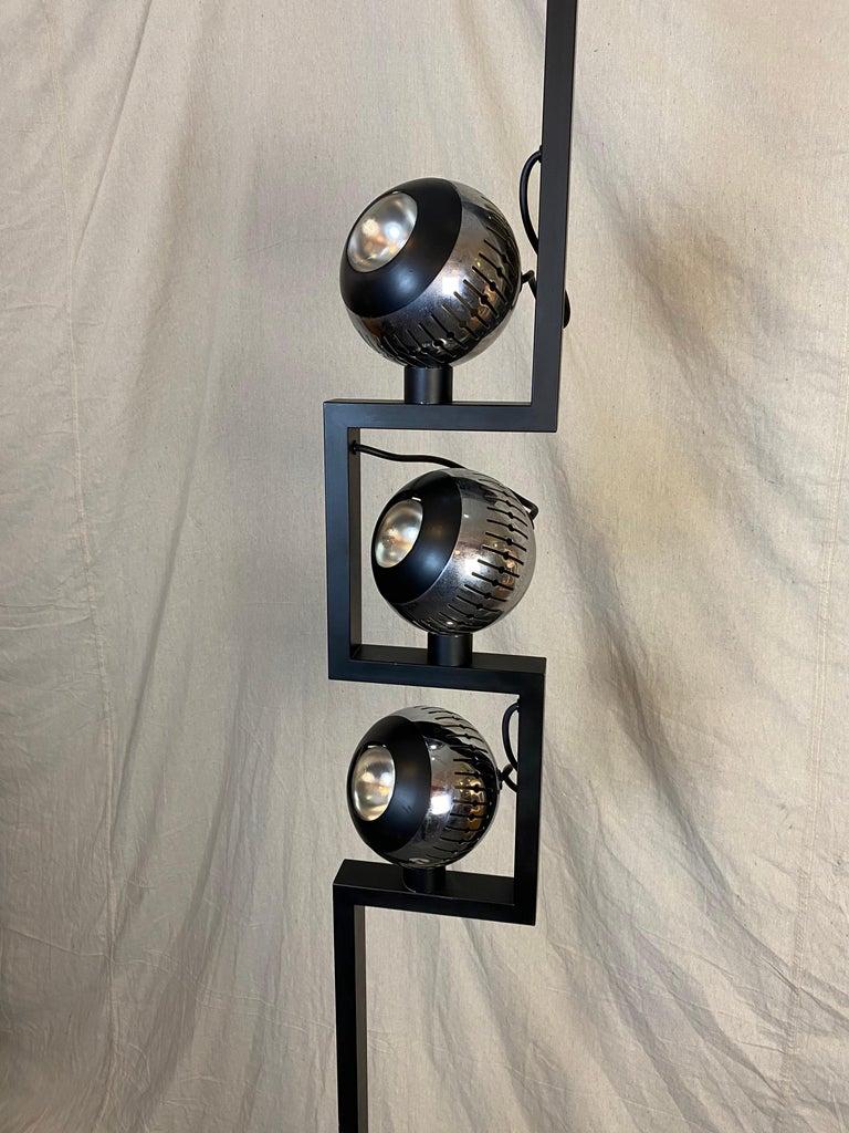 Mid-Century Modern Angelo Lelii for Arredoluce Floor Lamp For Sale