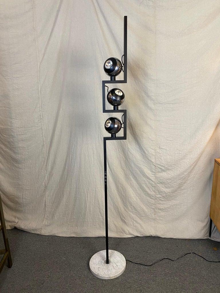 Italian Angelo Lelii for Arredoluce Floor Lamp For Sale