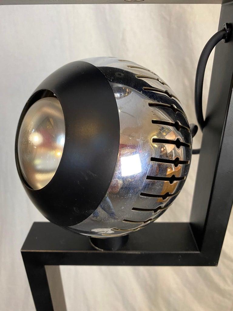 Metal Angelo Lelii for Arredoluce Floor Lamp For Sale