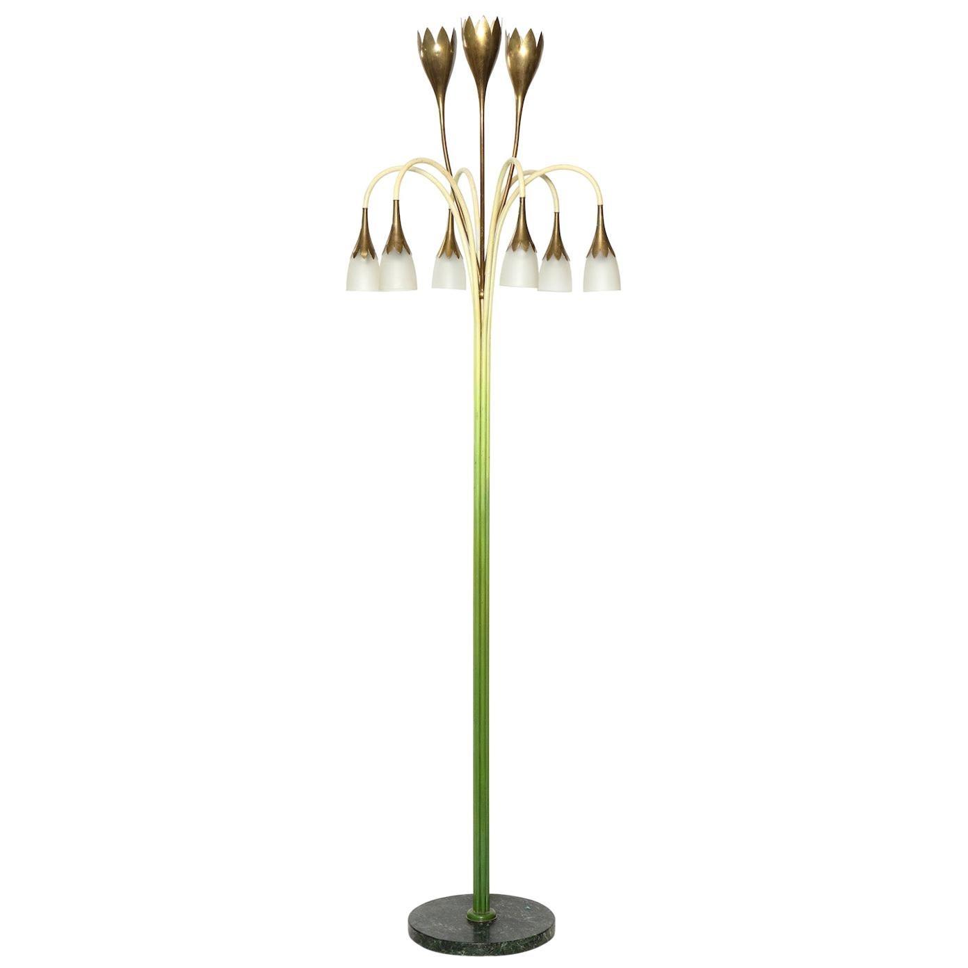 Angelo Lelii for Arredoluce Floor Lamp
