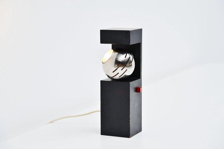 Italian Angelo Lelli Arredoluce Eye Spot Table Lamp, Italy, 1960 For Sale