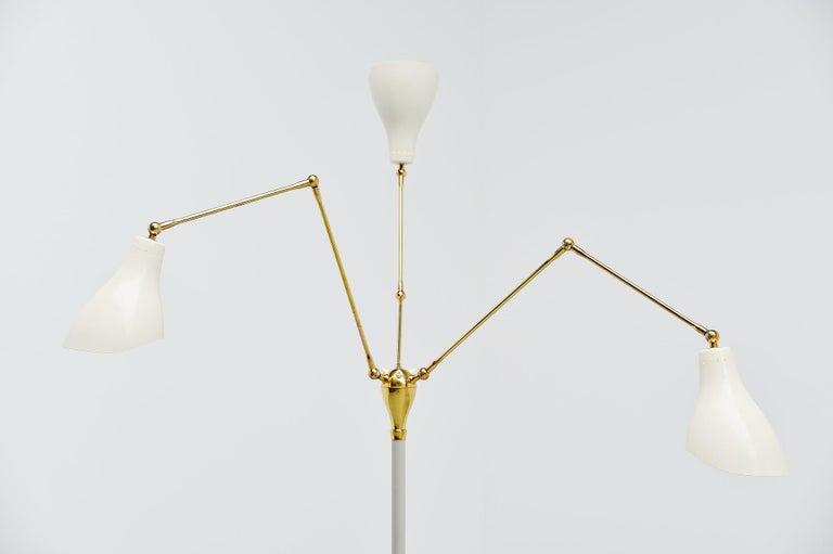Italian Angelo Lelli Arredoluce Floor Lamp, Italy, 1950 For Sale