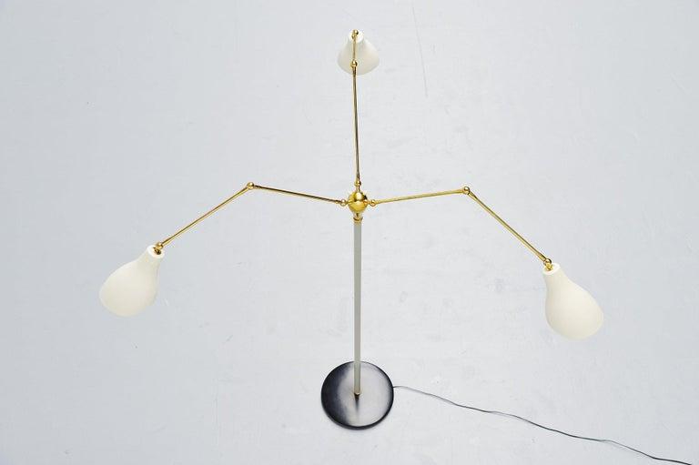 Angelo Lelli Arredoluce Floor Lamp, Italy, 1950 For Sale 1