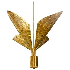 Angelo Lelli Arredoluce Golden Palm Pendant