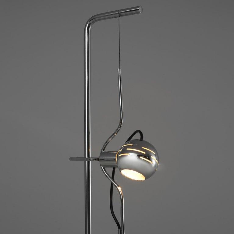 Italian Angelo Lelli for Arredoluce 'Filosfera' Floor Lamp For Sale