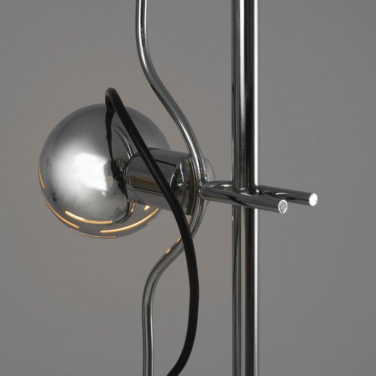Angelo Lelli for Arredoluce 'Filosfera' Floor Lamp In Good Condition For Sale In Waalwijk, NL
