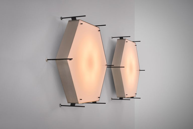 Angelo Lelli Model No. 12712 Lamps for Arredoluce, ca. 1958 2