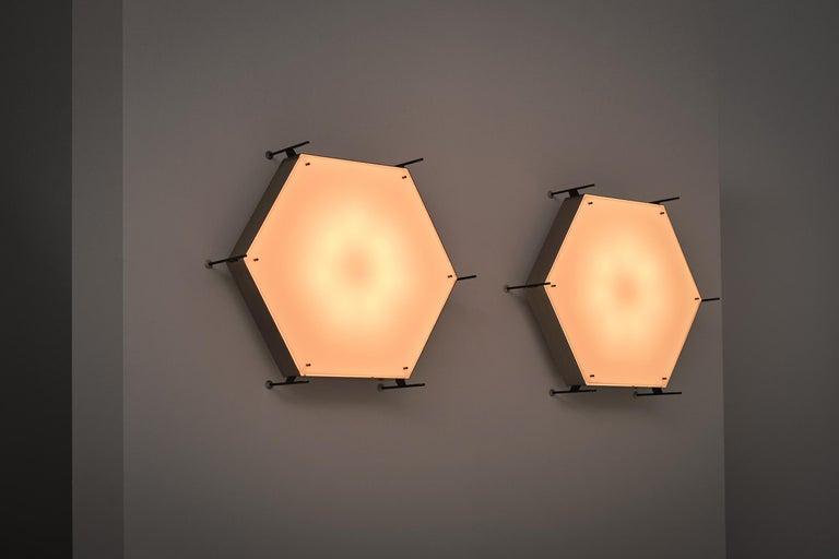 Angelo Lelli Model No. 12712 Lamps for Arredoluce, ca. 1958 3
