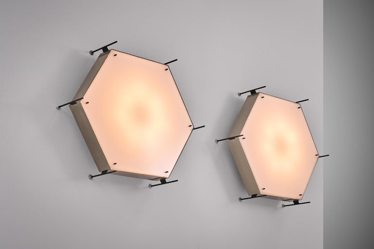 European Angelo Lelli Model No. 12712 Lamps for Arredoluce, ca. 1958