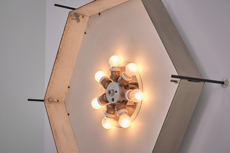 Angelo Lelli Model No. 12712 Lamps for Arredoluce, ca. 1958 In Good Condition In Rotterdam, NL
