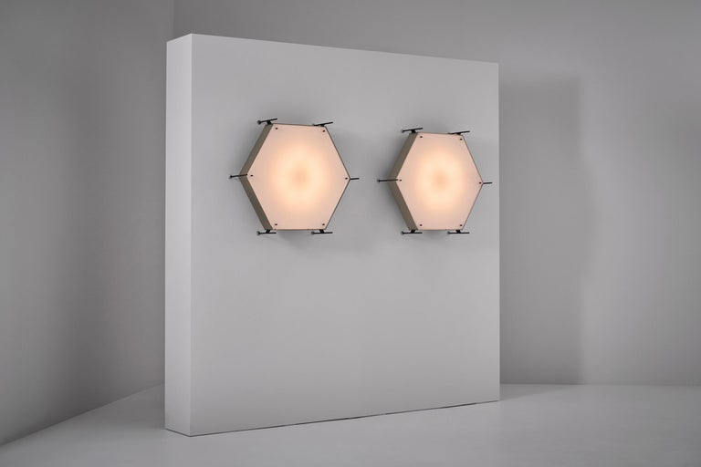 20th Century Angelo Lelli Model No. 12712 Lamps for Arredoluce, ca. 1958