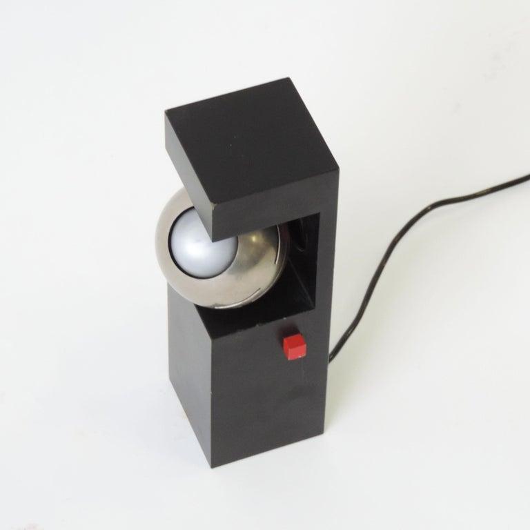 Mid-Century Modern Angelo Lelli Table Lamp for Arredoluce, Italy, 1960 For Sale