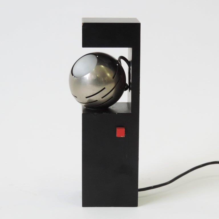 Italian Angelo Lelli Table Lamp for Arredoluce, Italy, 1960 For Sale