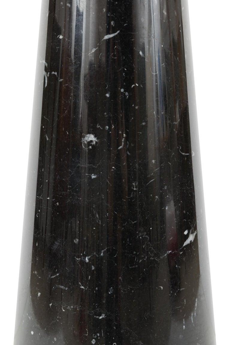 Angelo Mangiarotti Black Marquina Marble