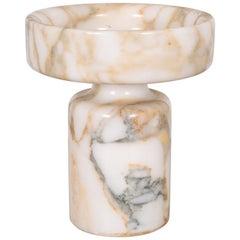 Angelo Mangiarotti Calacatta Marble Vase for Knoll International, circa 1960