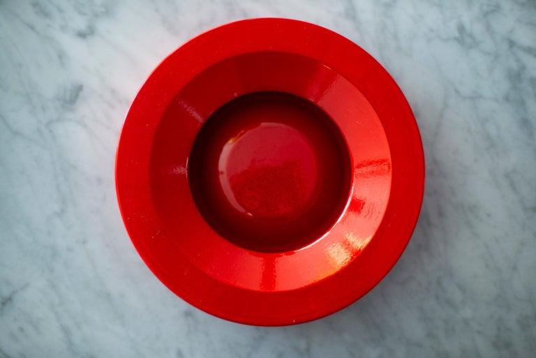 Angelo Mangiarotti Ceramic Ashtray For Sale 3