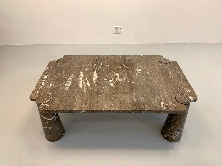 Angelo Mangiarotti Coffee Table, 1970s In Good Condition For Sale In New York, NY