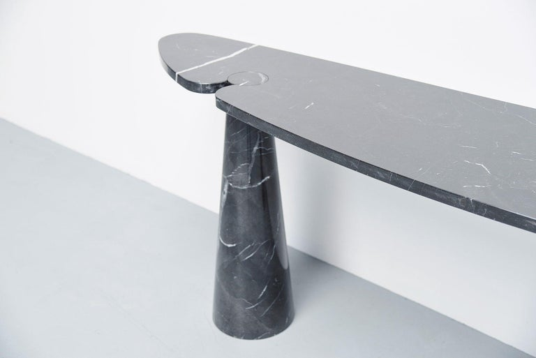 Marble Angelo Mangiarotti Console Table Skipper, Italy, 1971 For Sale