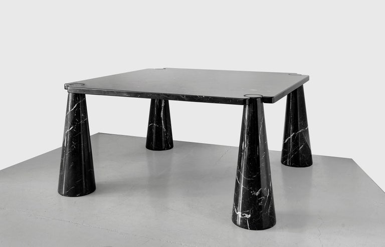Italian Angelo Mangiarotti Dining Table For Sale
