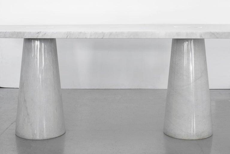 Italian Angelo Mangiarotti Dining Table For Sale