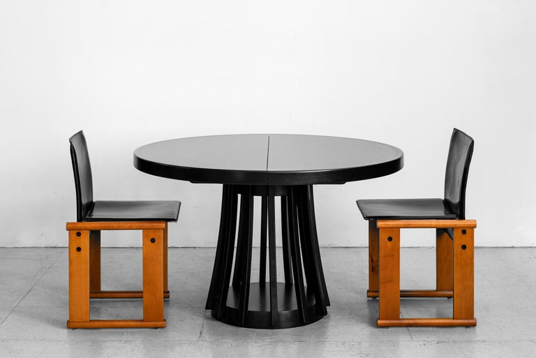 20th Century Angelo Mangiarotti Dining Table For Sale