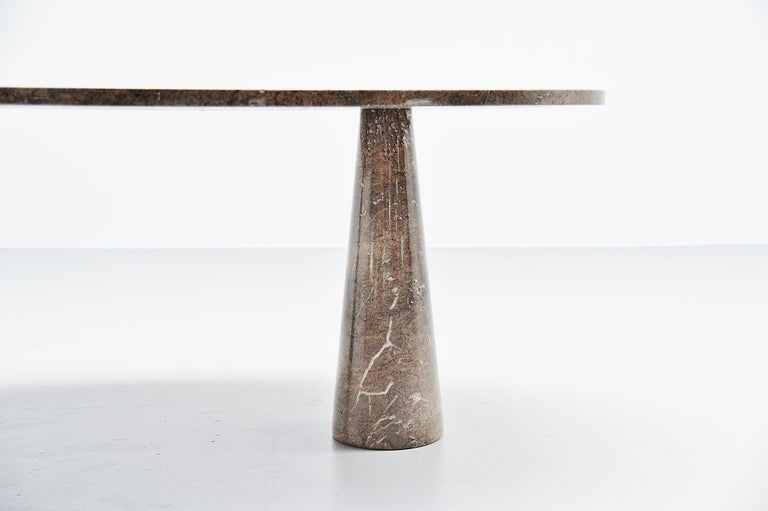 Mid-Century Modern Angelo Mangiarotti Eros Dining Table Mondragone Skipper, 1971 For Sale