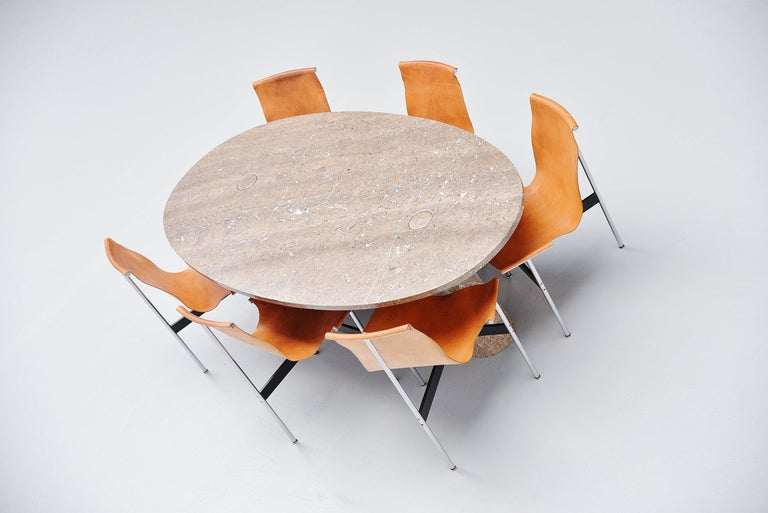 Angelo Mangiarotti Eros Dining Table Mondragone Skipper, 1971 For Sale 1