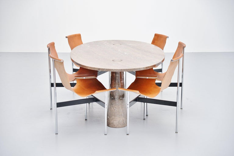 Angelo Mangiarotti Eros Dining Table Mondragone Skipper, 1971 For Sale 2