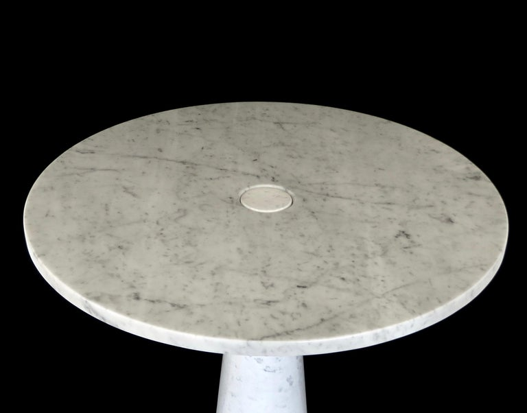 Angelo Mangiarotti Eros for Skipper Carrara Marble Dining or Centre Table For Sale 3