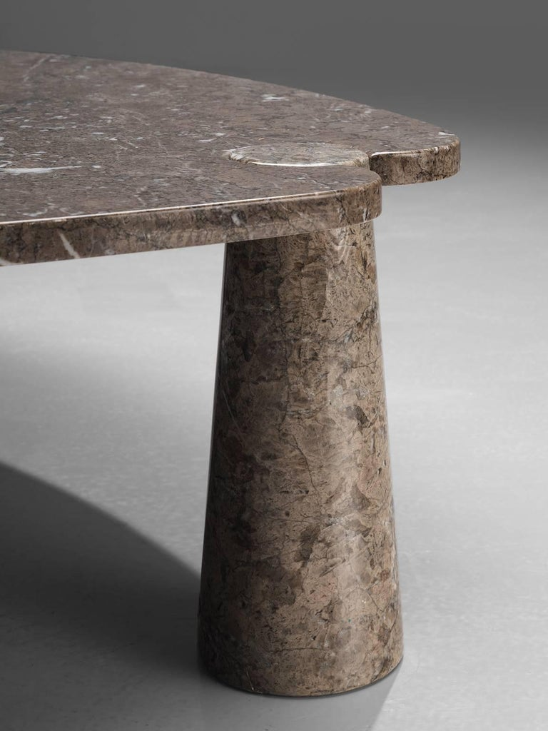 Late 20th Century Angelo Mangiarotti 'Eros' Marble Cocktail Table For Sale