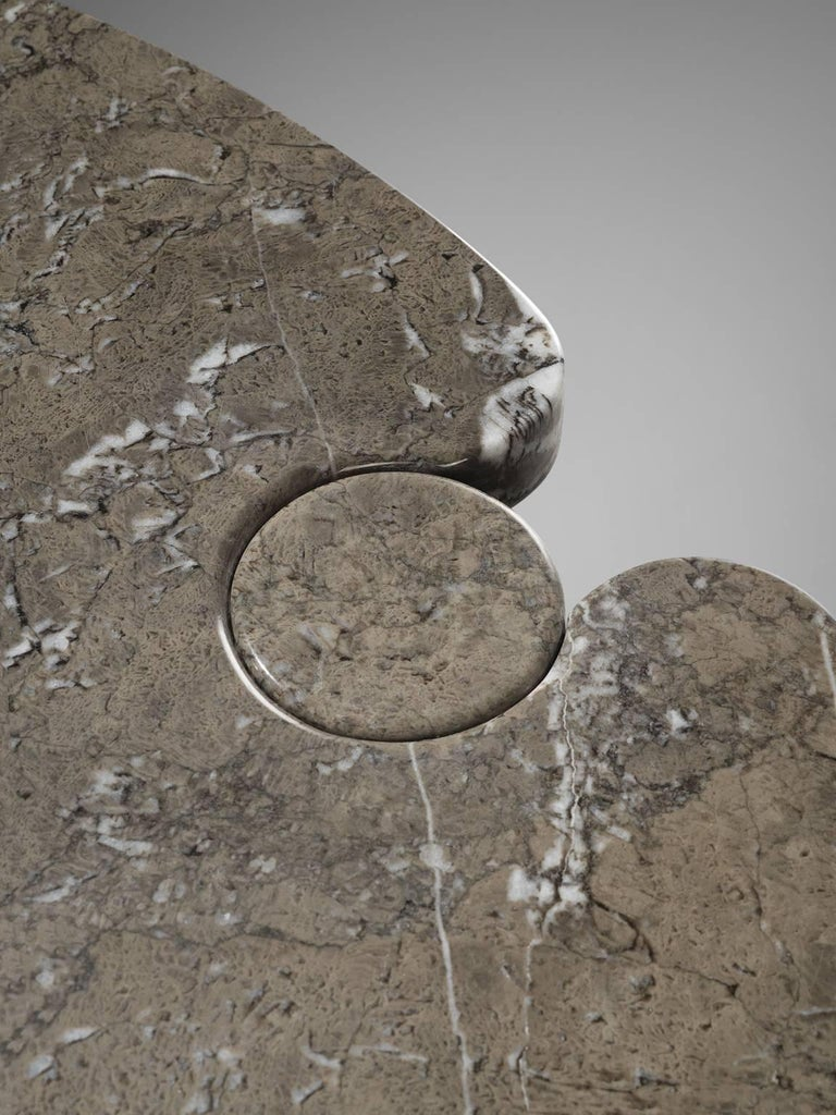 Angelo Mangiarotti Eros Marble Dining Table For Sale 1