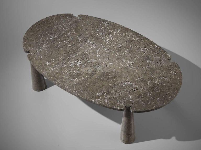 Angelo Mangiarotti Eros Marble Dining Table For Sale 2