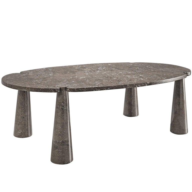 Angelo Mangiarotti Eros Marble Dining Table For Sale