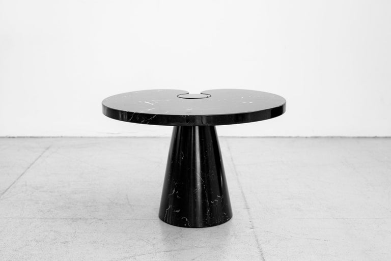 Italian Angelo Mangiarotti Eros Series Side Table For Sale