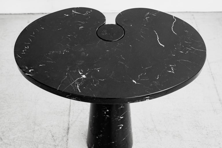 Angelo Mangiarotti Eros Series Side Table In Good Condition For Sale In Los Angeles, CA