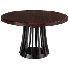 Angelo Mangiarotti Extendable Table in Mahogany