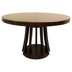 Angelo Mangiarotti for La Sorgente Dei Mobili, Extendable Dining Table, Mahogany