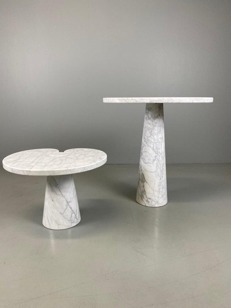 Angelo Mangiarotti for Skipper Carrara Side Table For Sale 3
