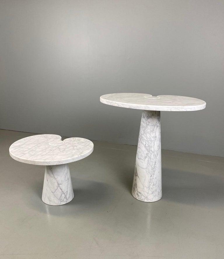 Angelo Mangiarotti for Skipper Carrara Side Table For Sale 4