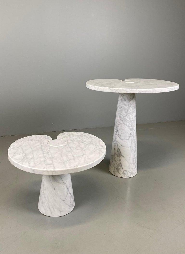 Angelo Mangiarotti for Skipper Carrara Side Table For Sale 5